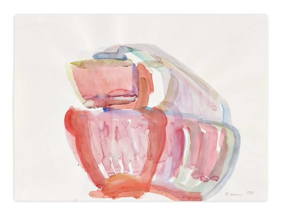 Reading: Maria Lassnig - Zarter Mittelpunkt / Delicate Centre