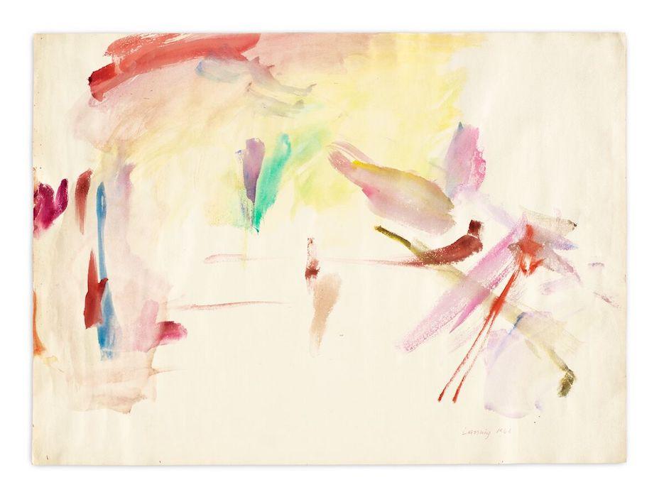 Maria Lassnig - Zarter Mittelpunkt / Delicate Centre