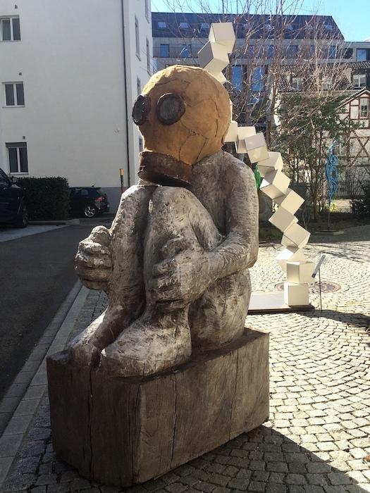 8. Skulpturengarten 2020 - Koexistenz