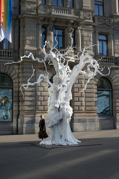 Guided tour: Gasträume 2020 - Public Art in Zurich