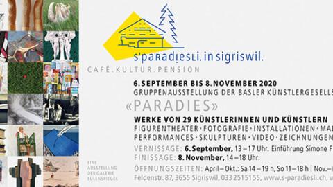 """Eine Gruppenausstellung der Basler Künstlergesellschaft zum Thema """"Paradies"""""""