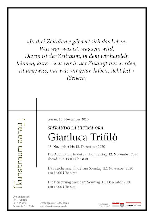Gianluca Trifilò - Sperando la ultima ora