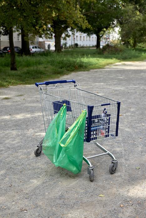 Finissage: Luca Ellena - Einkaufswagen