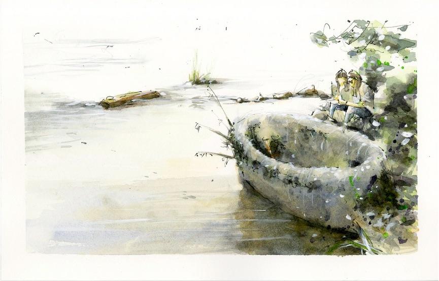 Urban Sketchers - Leben am Wasser