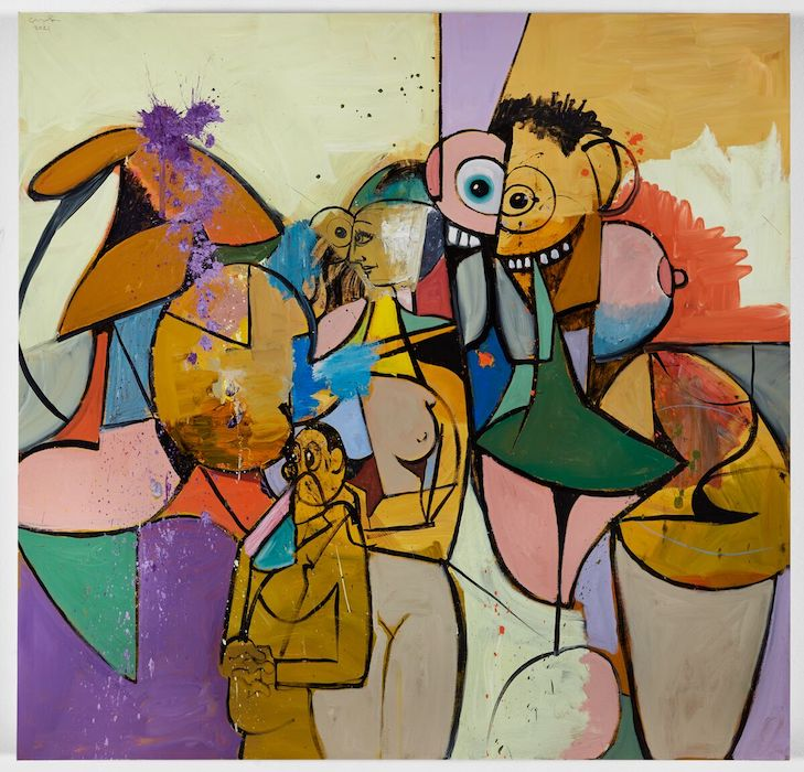 George Condo - Ideals of the Unfound Truth
